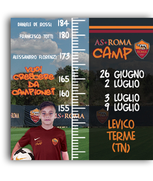 Immagine sx home AS Roma Camp