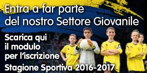 Iscrizioni scuola calcio 2016-2017